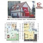 100 m2 Prefabrik Ev