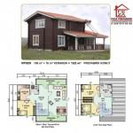 122 m2 Prefabrik Ev