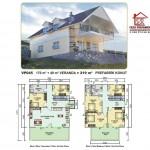 219 m2 Prefabrik Ev