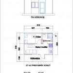 27 m2 Plan