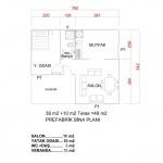 49 m2 Plan