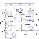 103 m2 Plan