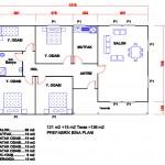 136 m2 Plan