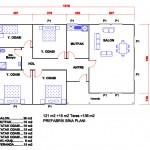 151 m2 Plan