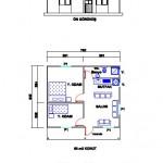 36 m2 Plan
