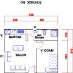 41 m2 Plan