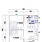 60 m2 Plan