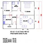 68 m2 Plan