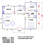 98 m2 Plan